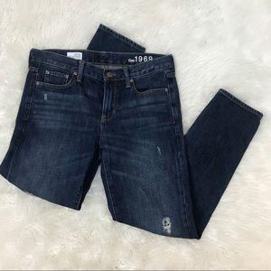 GAP Women Sexy Boyfriend Distressed Jeans 27